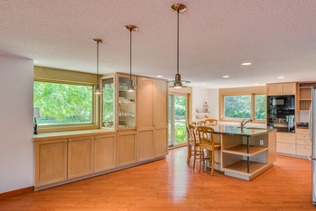 Another view of the kitchen with room for a large dining room table. (photo 3)