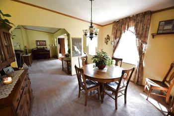 From the kitchen to the dining room. Space for your hutch and a large table too. (photo 4)