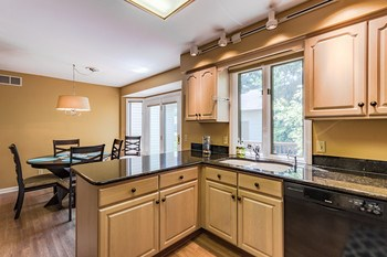 Lots of natural light pours in from the large window over the sink so you can enjoy watching the birds in the trees during kitchen clean up. (photo 3)