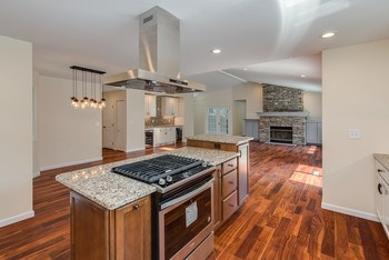Most desirable floor plan of today - open concept to the great room so you can interact with others in the home while working in the kitchen. (photo 4)