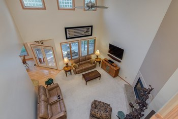 Over View of 2 story living room (photo 5)