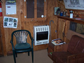 Sitting area inside cook house. (photo 3)