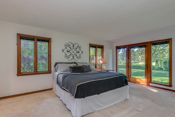 Master Bedroom with lovely views of the backyard. (photo 3)