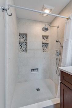 Master Bathroom with heated ceramic tiles. (photo 4)