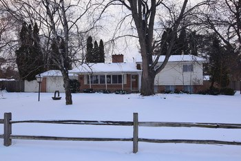 Beautifully updated 4 bedroom 2 bath home on a huge lot in a great Saginaw Twp neighborhood that has so much to offer.  This spacious home boasts an open floor plan on the main level, two wood burning fireplaces, 2 car garage, in-ground swimming pool and a fenced in backyard. (photo 1)