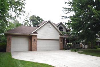 The driveway is completed with cement and is nice and wide to accommodate the 3 car garage.  Plenty of parking inside and out. (photo 4)