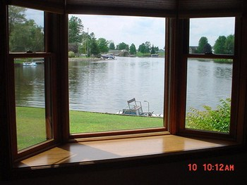 Enjoy the View of Heron Cove from the Bay Window in the living area. (photo 5)