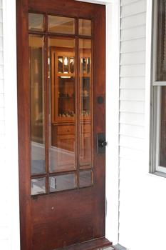 Beautiful Glass & Solid Wood Entrance door! (photo 4)