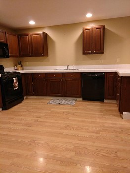 Here is another view of the nice large kitchen (photo 3)