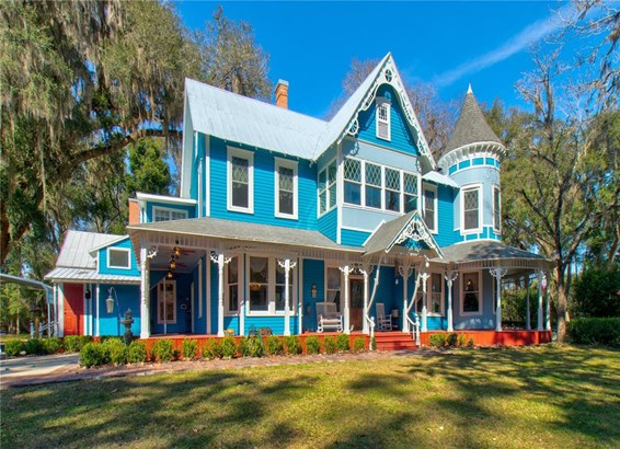 Courtyard,Historical, Single Family Residence - ARCHER, FL