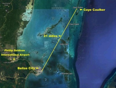 21 Miles Northeast Of Belize City, Caye Caulker - BLZ (photo 1)