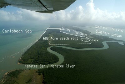 Between Caribbean Sea And Quashie Trapp Lagoon, Belize - BLZ (photo 1)