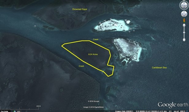 Approximately 8 Miles Southeast Of Belize City, Drowned Caye - BLZ (photo 1)