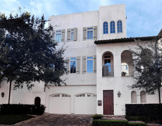Single-Family, Contemporary/Modern,Mediterranean - Houston, TX