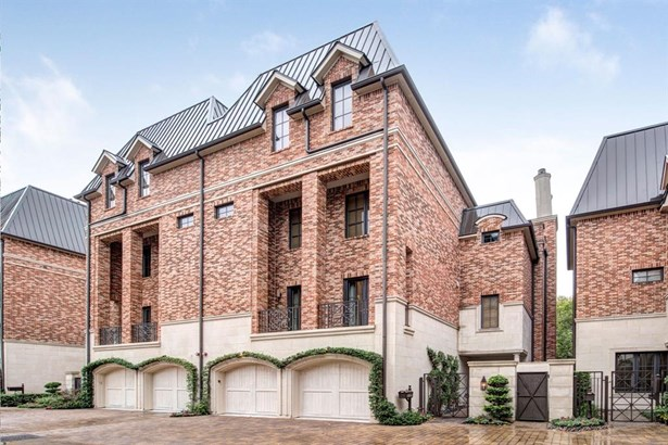 Townhouse, French,Traditional - Houston, TX