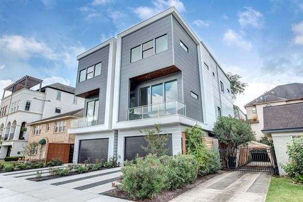 Single Family Detached, Contemporary/Modern - Houston, TX