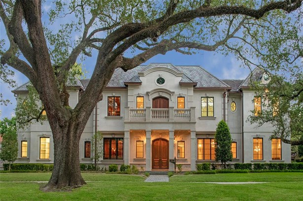 French,Traditional, Single-Family - West University Place, TX