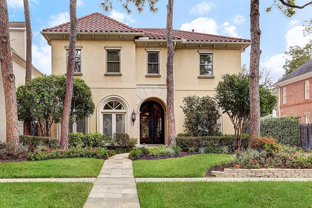 Mediterranean,Traditional, Cross Property - West University Place, TX (photo 1)