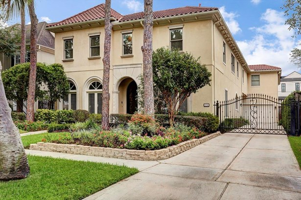 Mediterranean,Traditional, Cross Property - West University Place, TX (photo 2)