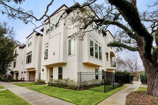 Contemporary/Modern,Traditional, Townhouse - Houston, TX (photo 1)