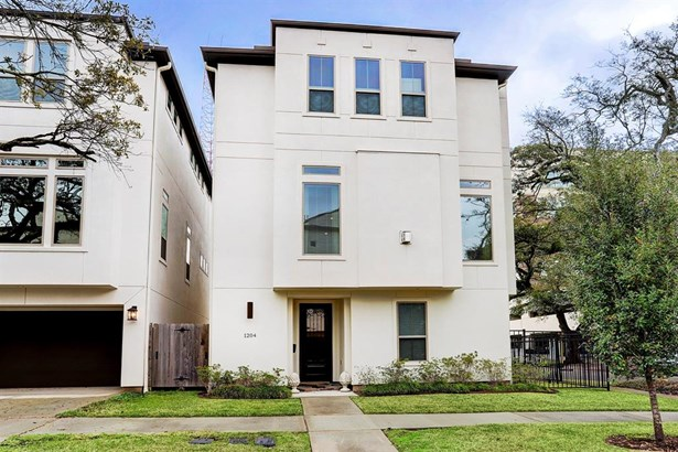 Contemporary/Modern,Traditional, Townhouse - Houston, TX (photo 2)