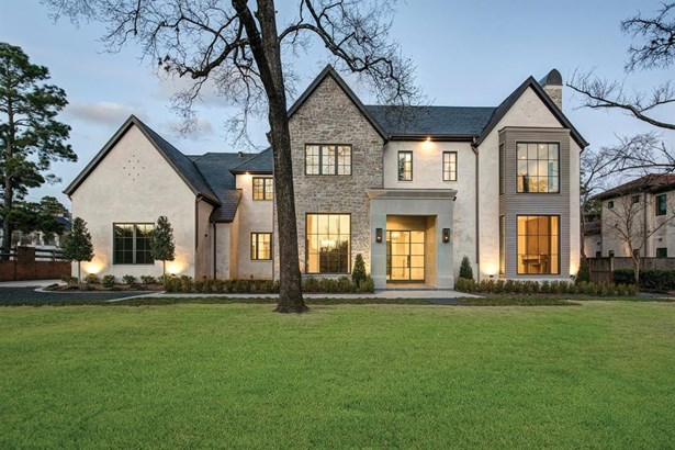 Contemporary/Modern,French, Cross Property - Hunters Creek Village, TX (photo 2)