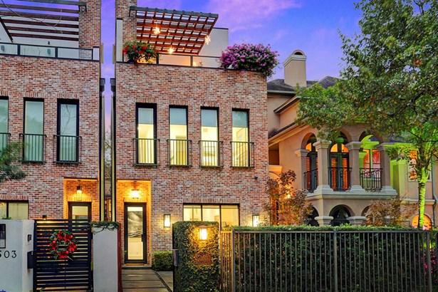 Contemporary/Modern,Traditional, Cross Property - Houston, TX (photo 2)