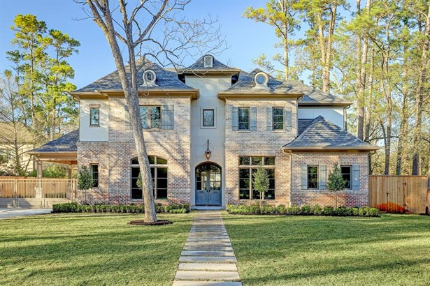 Traditional, Single-Family - Piney Point Village, TX
