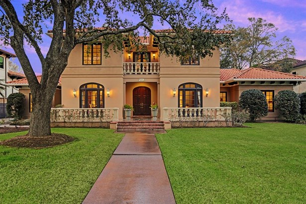 Mediterranean,Traditional, Cross Property - Bellaire, TX (photo 1)