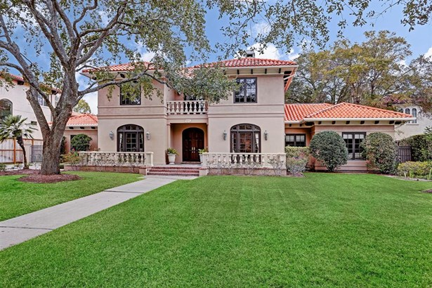 Mediterranean,Traditional, Cross Property - Bellaire, TX (photo 2)