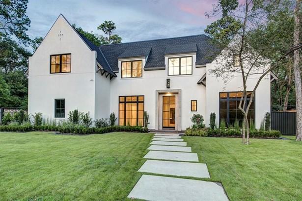 Contemporary/Modern,Traditional, Single-Family - Hunters Creek Village, TX