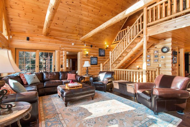 2 Story,Exposed Basement, Log Home - Whitewater, WI (photo 5)
