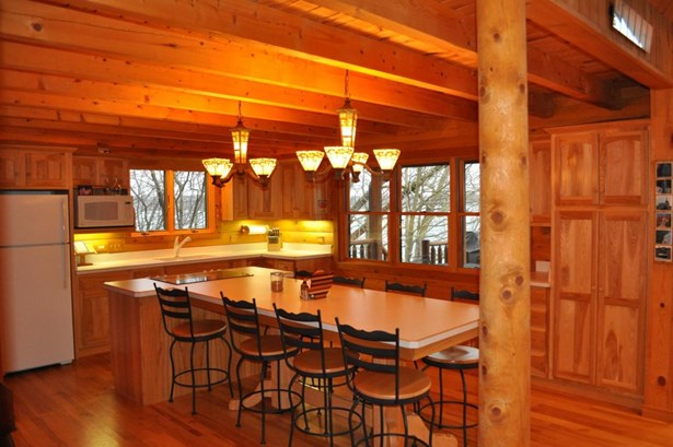 2 Story,Exposed Basement, Log Home - Elkhorn, WI (photo 3)