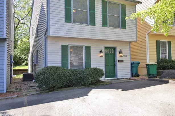Traditional,Colonial,Townhouse, Detached - Little Rock, AR (photo 1)