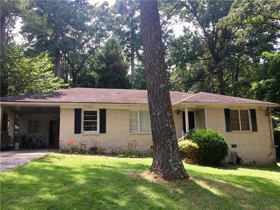 Single Family Residence, Ranch - Atlanta, GA