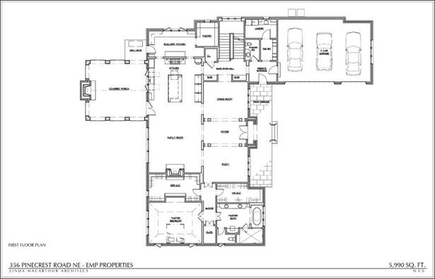 Residential Detached, European - Atlanta, GA (photo 5)