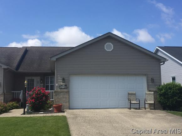 Ranch, Residential,Built As Condo - Chatham, IL (photo 1)