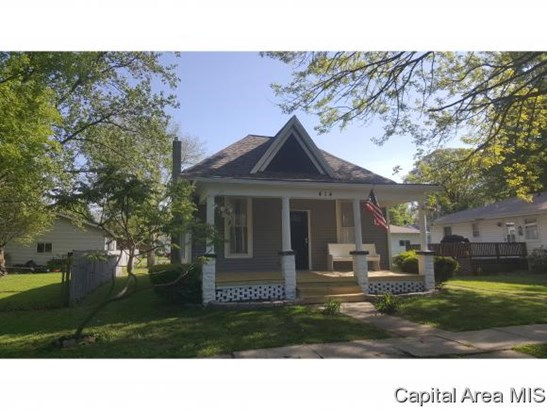 Bungalow,1 Story, Residential,Single Family Residence - Mt Pulaski, IL (photo 1)
