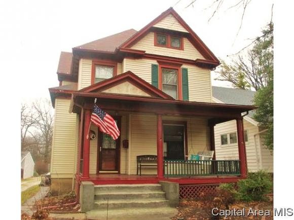 Residential,Single Family Residence, 2 Story - Jacksonville, IL (photo 1)