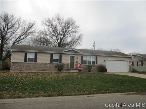Ranch, Residential,Single Family Residence - Jacksonville, IL (photo 1)