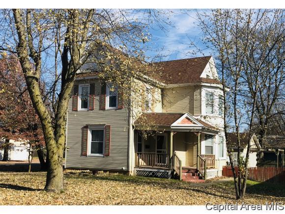 Residential,Single Family Residence, 2 Story - Virden, IL