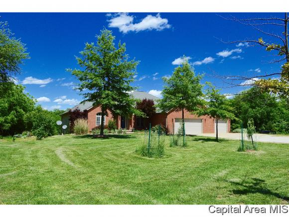 Ranch,1 Story, Residential,Single Family Residence - Mechanicsburg, IL (photo 2)