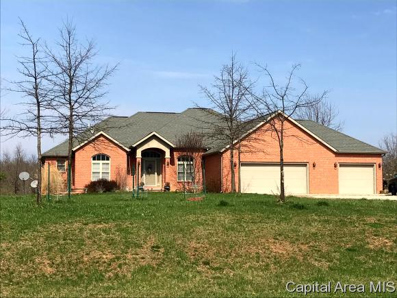 Ranch,1 Story, Residential,Single Family Residence - Mechanicsburg, IL (photo 3)