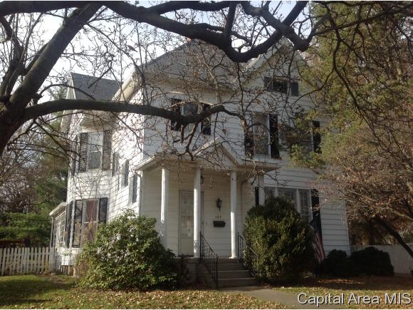 2 Story,Traditional, Residential,Single Family Residence - Jacksonville, IL (photo 1)
