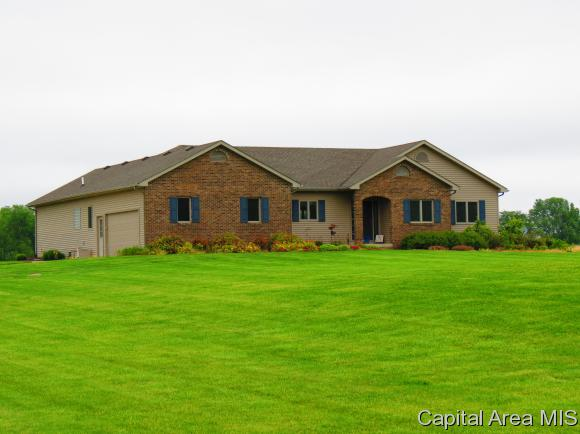 Ranch,1 Story, Residential,Single Family Residence - Edinburg, IL (photo 1)