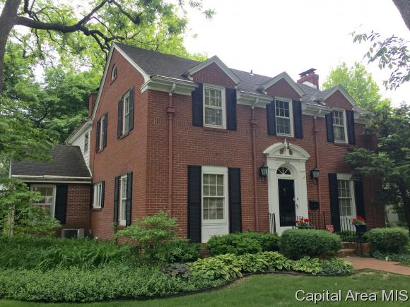 Residential,Single Family Residence, 2 Story,Colonial - Springfield, IL (photo 1)