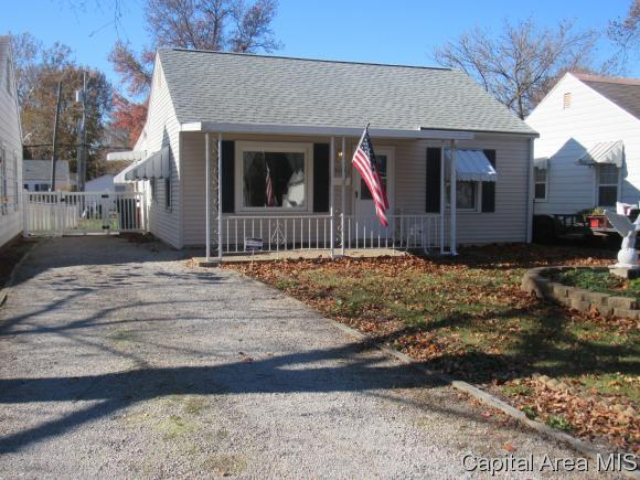 Bungalow,1 Story, Residential,Single Family Residence - Springfield, IL (photo 1)