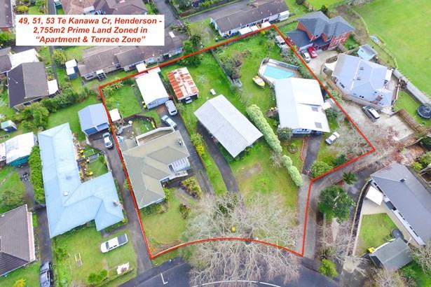 49,51,53 Te Kanawa Crescent, Henderson, Auckland - NZL (photo 1)