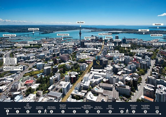 1501/438 Queen Street, City Centre, Auckland - NZL (photo 3)