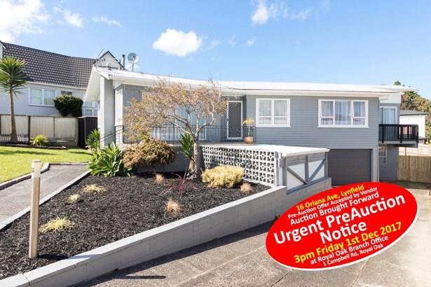 16 Oriana Avenue, Lynfield, Auckland - NZL (photo 1)
